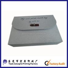 luxury glitter special paper clutch bag