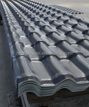 2.5 mm self cleaning decorative ASA coated spanish roof tile