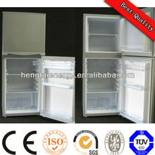 2014 fashion plastic cooler box promotion home solar refrigerator