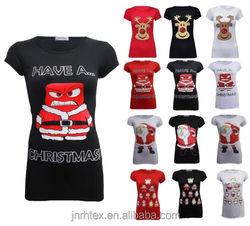 Popular custom black dog long cotton shirts for girls