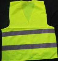 Good quality 55*67cm warning clothing vest reflective safety vest coat Sanitation vest Traffic safety 100pcs