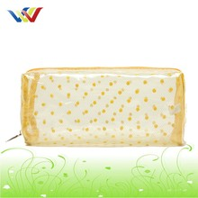 transparent waterproof clear PVC Cosmetic Bag