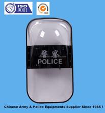 Placa de policía / Anti escudo con policarbonato