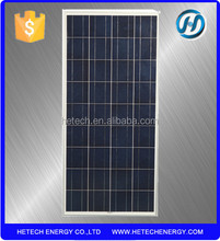 Low price per watt high efficiency poly 150W solar panel price india