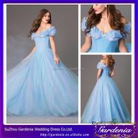 New Fashion 2015 floor Length Ball Gown Wedding Dresses Sweetheart Zipper Back Ice Blue Ball Gown Dresses Wedding Dress (SA30)
