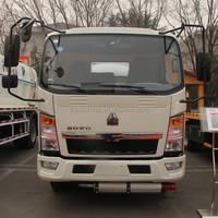 Sinotruck howo 4*2 chemical liquid tanker truck fuel tanker truck for sale