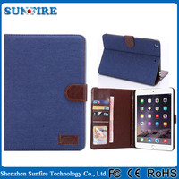 Western cowboy leather case for the new ipad, carry case for ipad mini