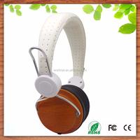 2015 new fashion swivel design stereo headphone, oem wood headphone , custom logo wooden headphone