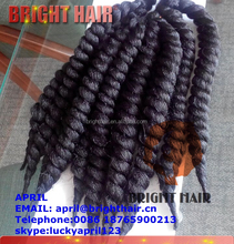 """12"""" short havana Kanekalon crochet twist braid braiding hair 1B"""