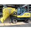 XN65-4L Small mini wheel excavator sell in china 6 ton 4x4wd
