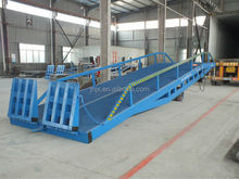 Mobile yard ramp with 8 tons load/ factory container loading ramp