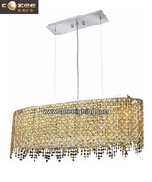 Modern Chandelier Pendant Light Islamic Crystal Hanging Lamp for Home Bedroom Decorating CZ9293Y