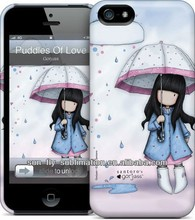 3D sublimation plastic cell phone case Blank mobile phone back cover OEM