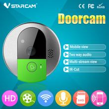 New Design VStarcam C7895WIP HD Smart Doorbell Door Eye Camera Wireless Wireless Video Intercom