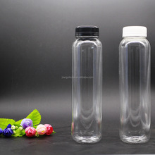 plastic pet clear water juice beverage bottle 350ml for take away