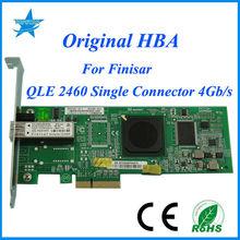 free shipping Qlogic qle 2460 for avago fibre optical mdules original Quad Port 4G single Fibre Channel to PCI Express Adapt