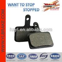 pocket bike part brake pads/ 49cc pocket bike parts