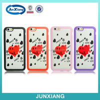 hot-selling wallet funky mobile phone case for iphone 6 magnet inside