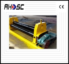 CNC hydraulic sheet bending machines with 3 drive rolls & plate rolling machines