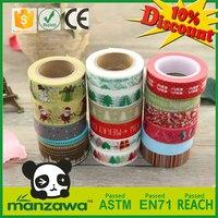 Free samples wholesale custom prined washi tape
