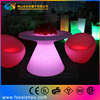 Commercial Furniture General Use and Plastic,PE Material led light up tables
