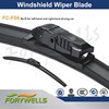 Multifunction windshield wiper blade/ soft superstructure with natural rubber refill 5 in 1 adatpers