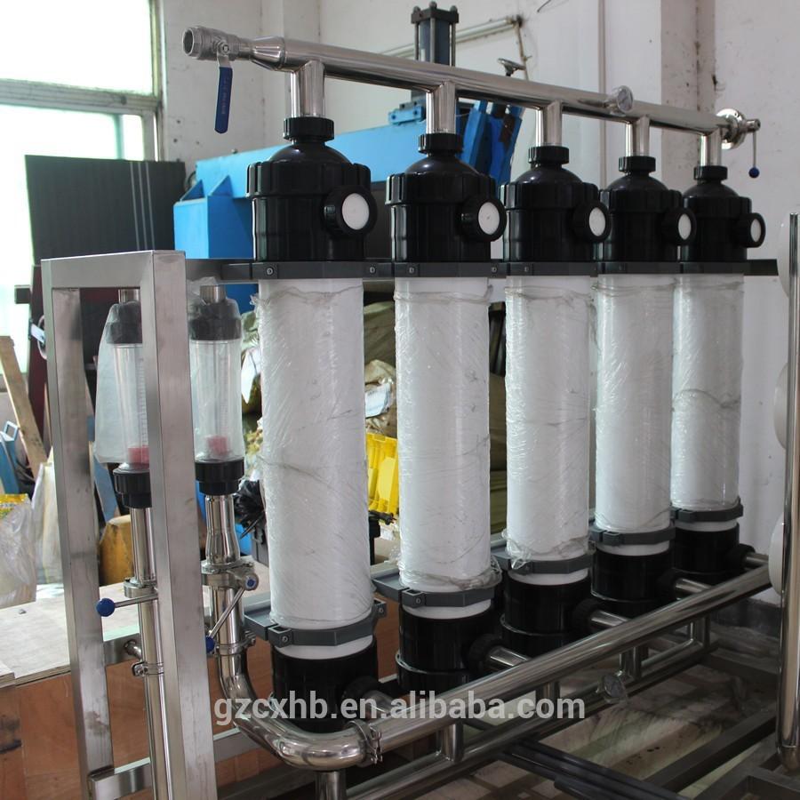 5000L / H ultrafitration sistema para bebidas e fazer água pura