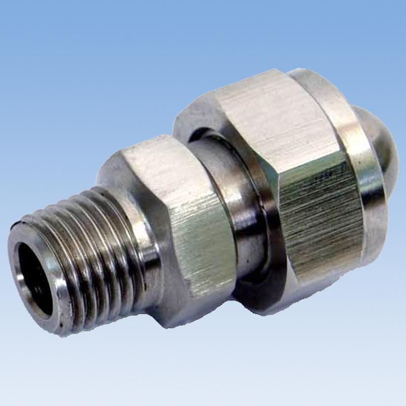 China supplier manufacturing water steam jet nozzle for