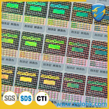 2015 hot selling hologram scratch off sticker, anti-counterfeiting scratch off label