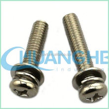 China high quality at competitive prices flange head hex combination and sem screw( washer)