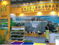 8mm height Artificial turf for gateball yard