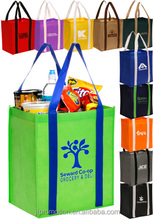 Cheap Wholesale Bulk Personalized Non-Woven Grocery Tote Bags TOT98