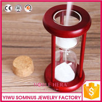 changeable sand timer retro design wooden hour glass refill min / seconds half hour sand hour glass for valentine's day B04921