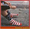 Fashion Designer USA Flag Mens Socks/Wholesale Mens Dress Socks/Custom Crew Socks Mens--AMY2015088