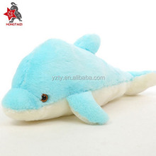 LED light pink dolphin plush toy