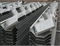 Estufa de vidro zinco revestido 3.0 MM drenagem Gutter
