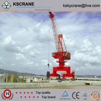 Single Jib Portal Crane Supplier with Electric Hoist