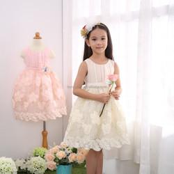 2015 Latest Design flower girl dresses, flower girl dress patterns free,one piece girls party dresses