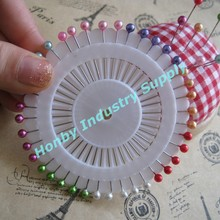 Gifts&crafts decorative 38mm plastic ball hat pin