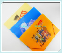 High quality a4 plastic folders with lanyard factory alibaba china