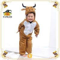 Costume Animal Brown Ox Costume for Children