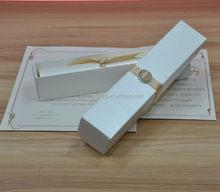 Top grade factory direct silk invitation folio