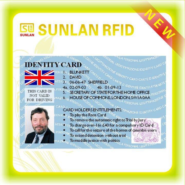 sample company id card