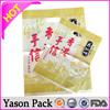 Yason large halloween pumpkin bag transparent resealable bag 100% recycled OPP trash bags