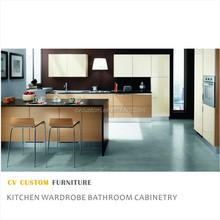 complete modern design kitchen cabinet australia hot sale residential kitchen in simple design