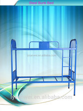 students dormitory use grey color staff use bunk bed with high quality
