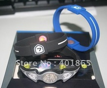 2012 new energy silicone ion engrave sport bands