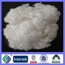 100% polyester 3D hollow conjugated non siliconised polyester staple fiber raw white