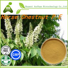 Extract of crown of Horse Chestnut Extract Aesculus hippocastanum L./Horse chestnut aescin 20%/Horse chestnut extract powder