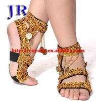 Belly dance shoes Practise dance shoes Coins dance shoes Belly dance practice shoes X-8008#